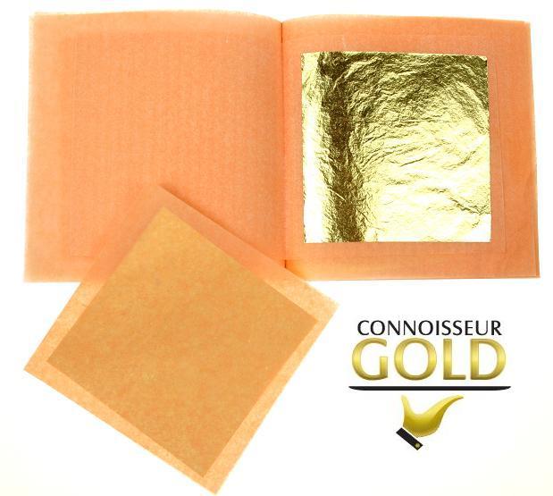 24ct Gold Leaf 50 x 50 mm