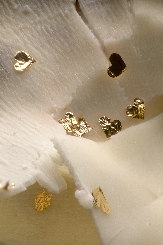 23ct Gold Leaf Shapes