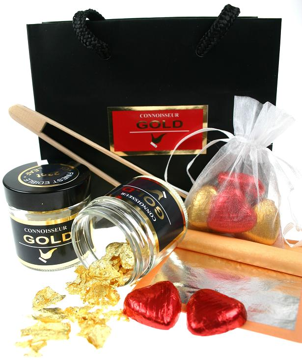 Edible Gold 23ct & Silver Gift Sets
