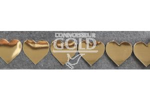 Gold Hearts on a Roll