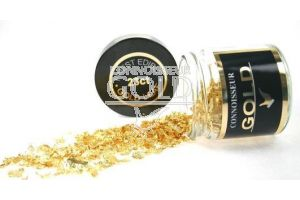 500mg 23ct Gold Large Flakes