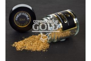 23ct Red/Rose Edible Gold Leaf Dust - 100mg