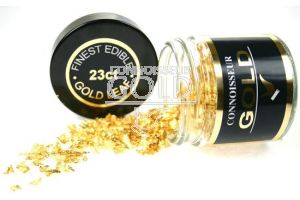 100mg 23ct Gold Flakes