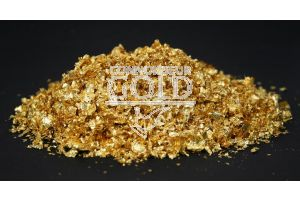 5 Grams 23ct Edible Gold Small Flakes
