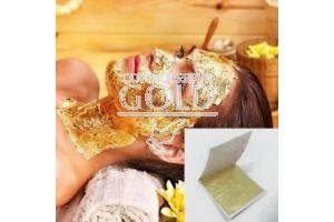 24ct Gold Leaf For Facials