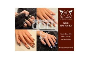 Gold Nail Art Kit