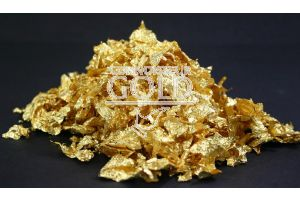 5 grams 23ct Gold Large Flakes