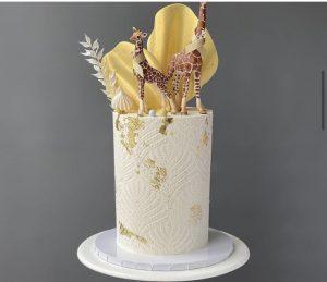 Tall Orange and Polenta Cake created by Elisabethcakes