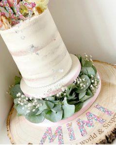 Beautiful Birthday Cake by Choccolottie